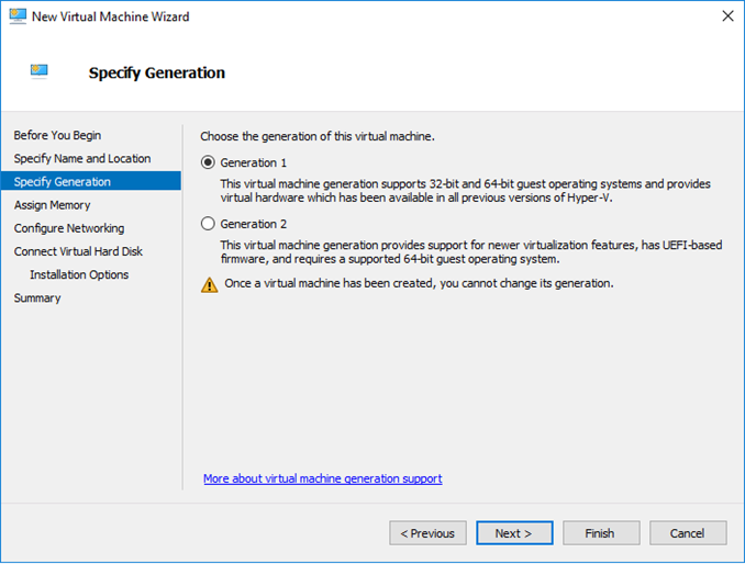 No UEFI-compatible file system was found στον Hyper-V