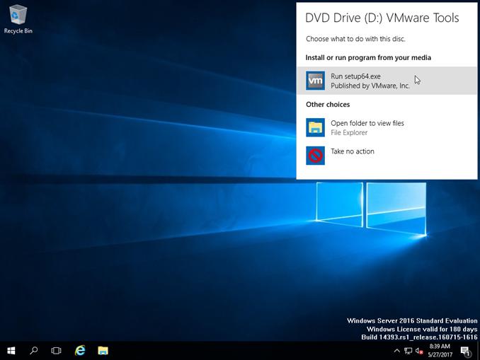 Εγκατάσταση VMware Tools σε Windows VM