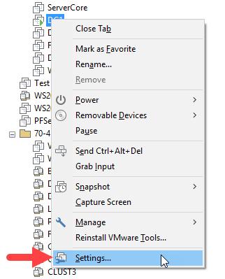 Προσθήκη νέας κάρτας δικτύου σε VM στο VMware Workstation