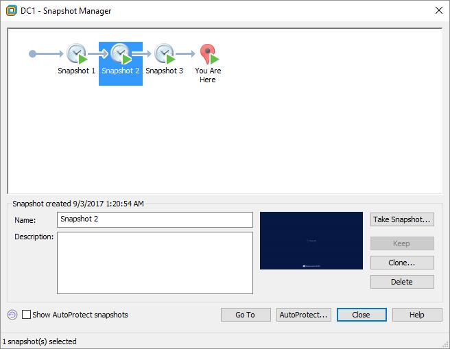 Δημιουργία και διαχείριση snapshots στο VMware Workstation