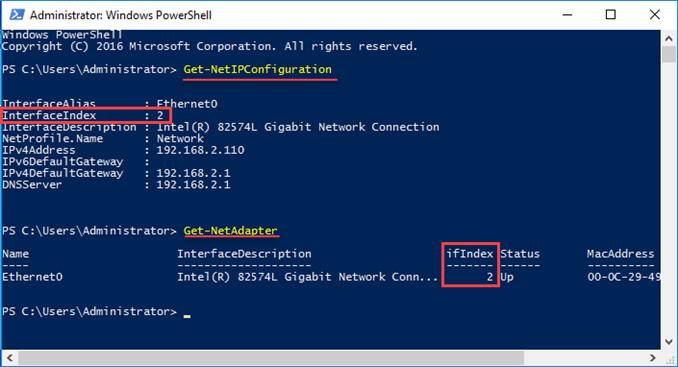 Πώς να αλλάξετε τις βασικές ρυθμίσεις δικτύου στον Windows Server 2016