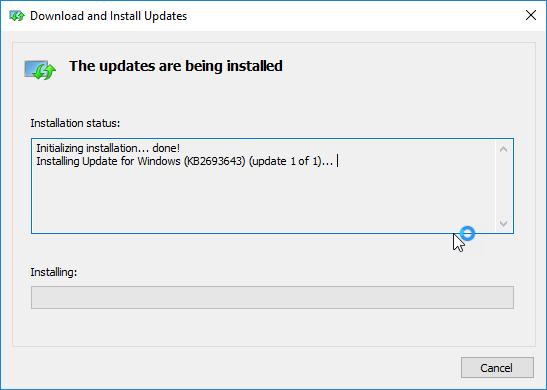Εγκατάσταση των RSAT στα Windows 10