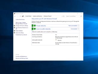Απενεργοποίηση Firewall στον Windows Server 2016