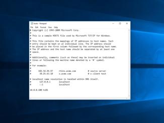Πώς να επεξεργαστείτε το αρχείο Hosts στα Windows 10