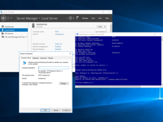 Domain join έναν Windows Server 2016 στο Active Directory