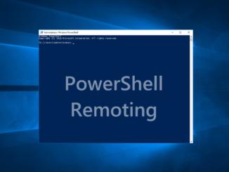 Ενεργοποίηση του PowerShell Remoting και έλεγχος αν είναι ενεργό
