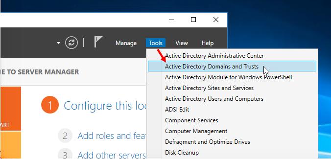Βρείτε το Domain και Forest Functional Level του Active Directory