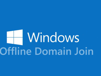 Offline domain join στο Active Directory