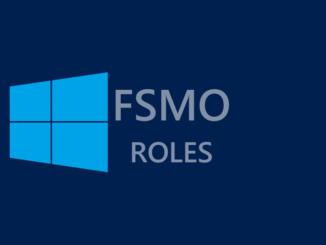 Ποιοι Domain Controllers κατέχουν τους FSMO ρόλους