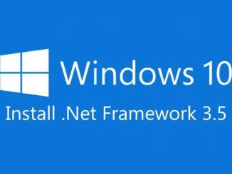 Εγκατάσταση .NET Framework 2.0, 3.0 και 3.5 στα Windows 10