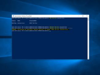 Επανεκκίνηση του WSUS Service μέσω PowerShell και CMD